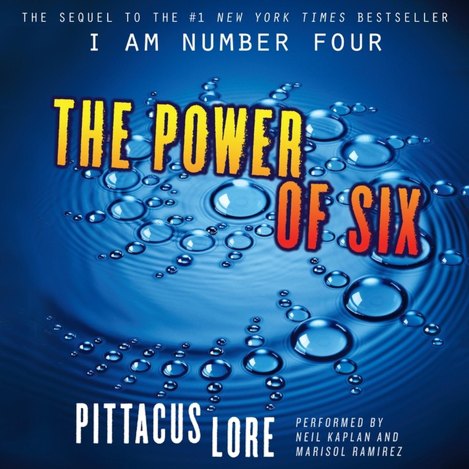 Printable The Power of Six Audiobook Cover Art
