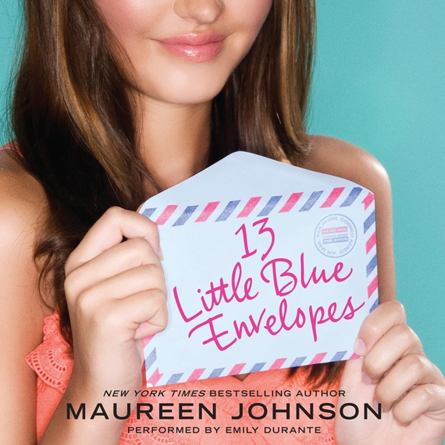 Printable 13 Little Blue Envelopes Audiobook Cover Art