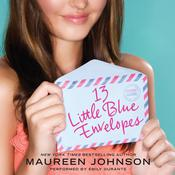13 Little Blue Envelopes, by Maureen Johnson
