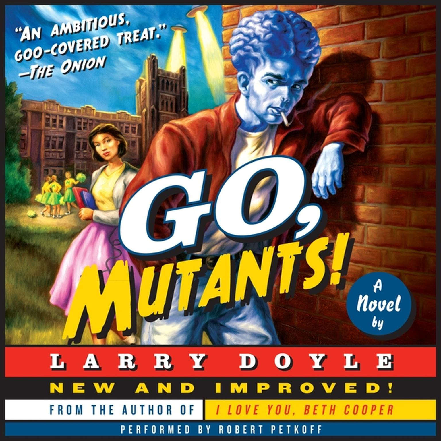 Printable Go, Mutants!: A Novel Audiobook Cover Art