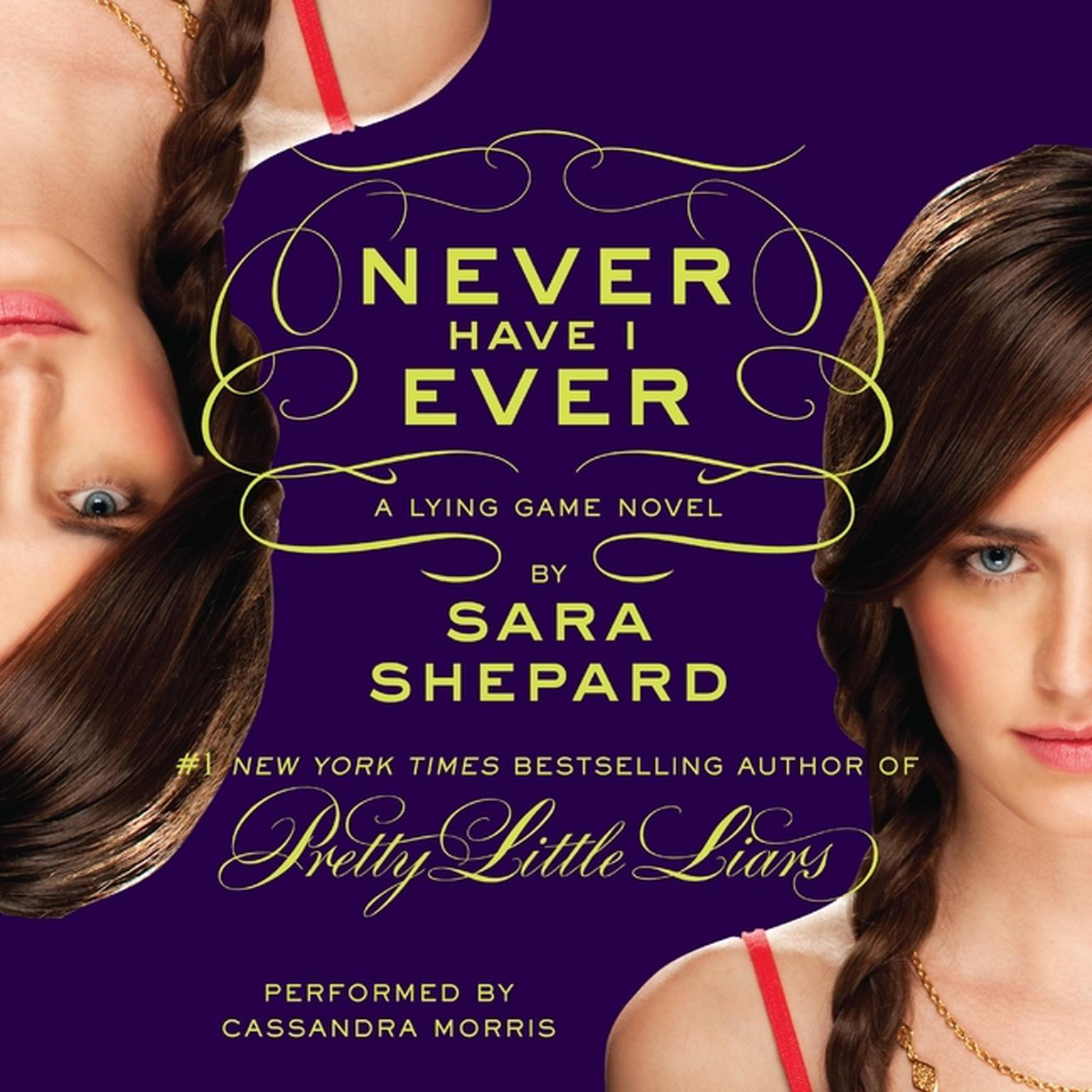 Printable Never Have I Ever Audiobook Cover Art