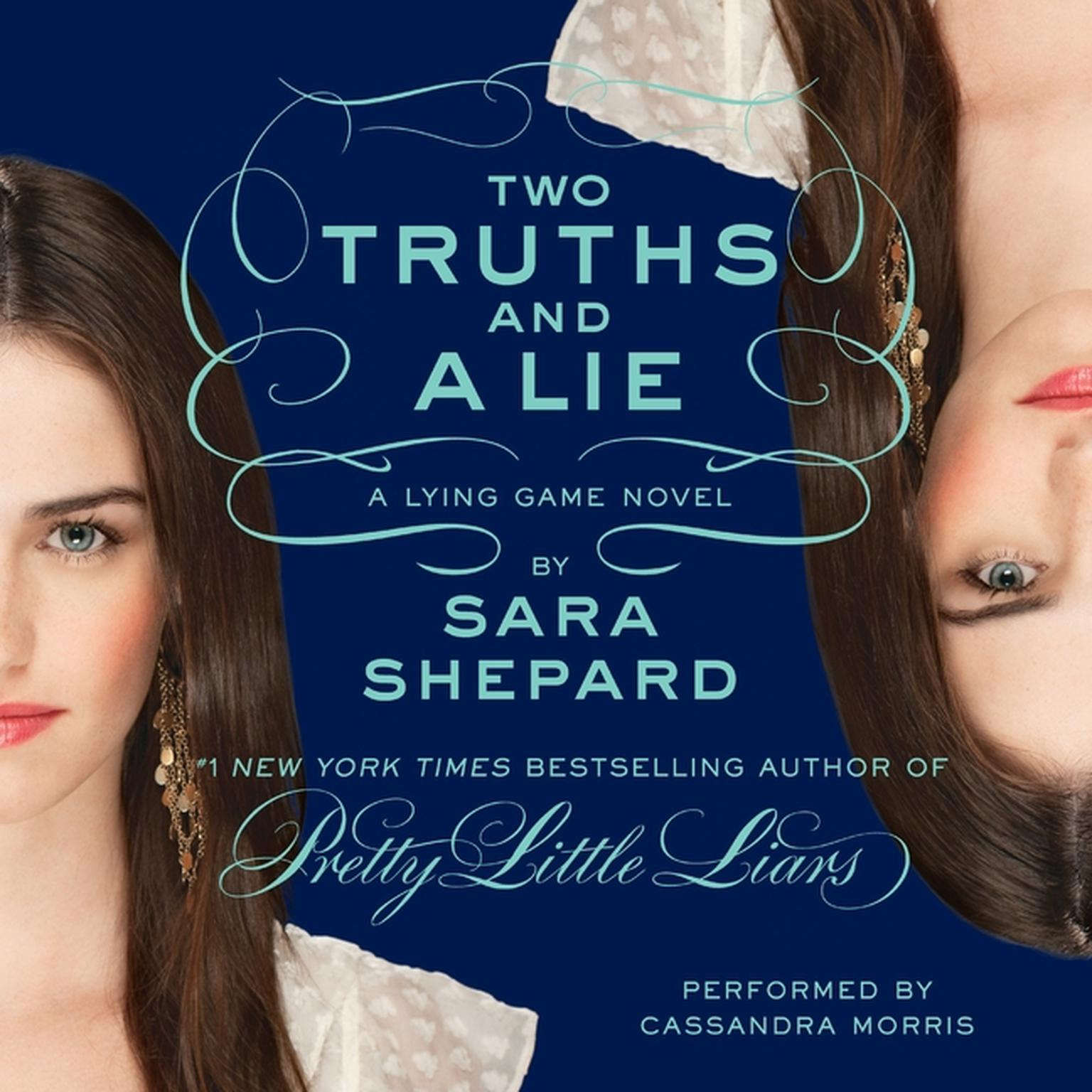 Printable Two Truths and a Lie: The Lying Game #3: Audiobook Cover Art