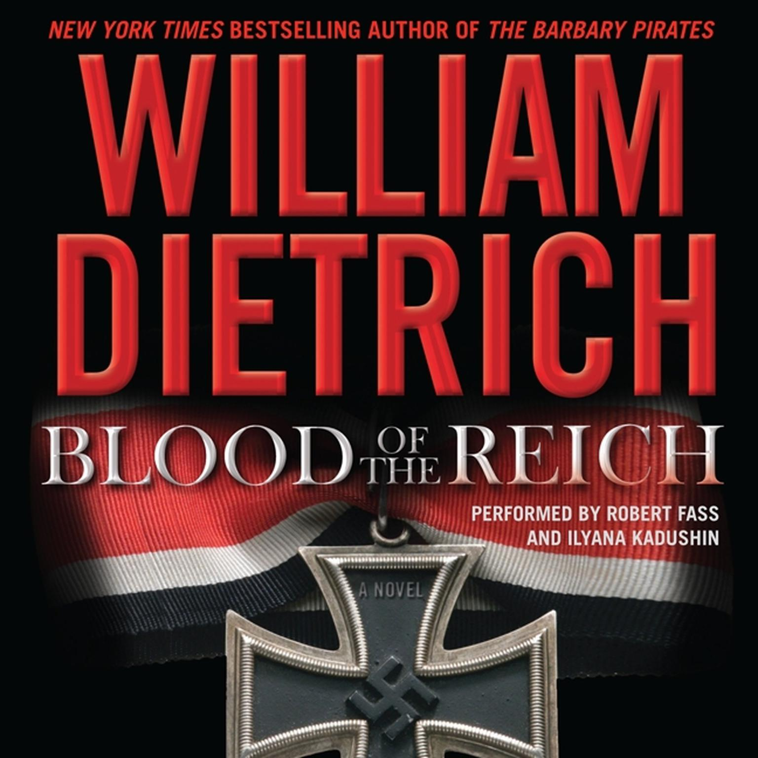 Printable Blood of the Reich: A Novel Audiobook Cover Art