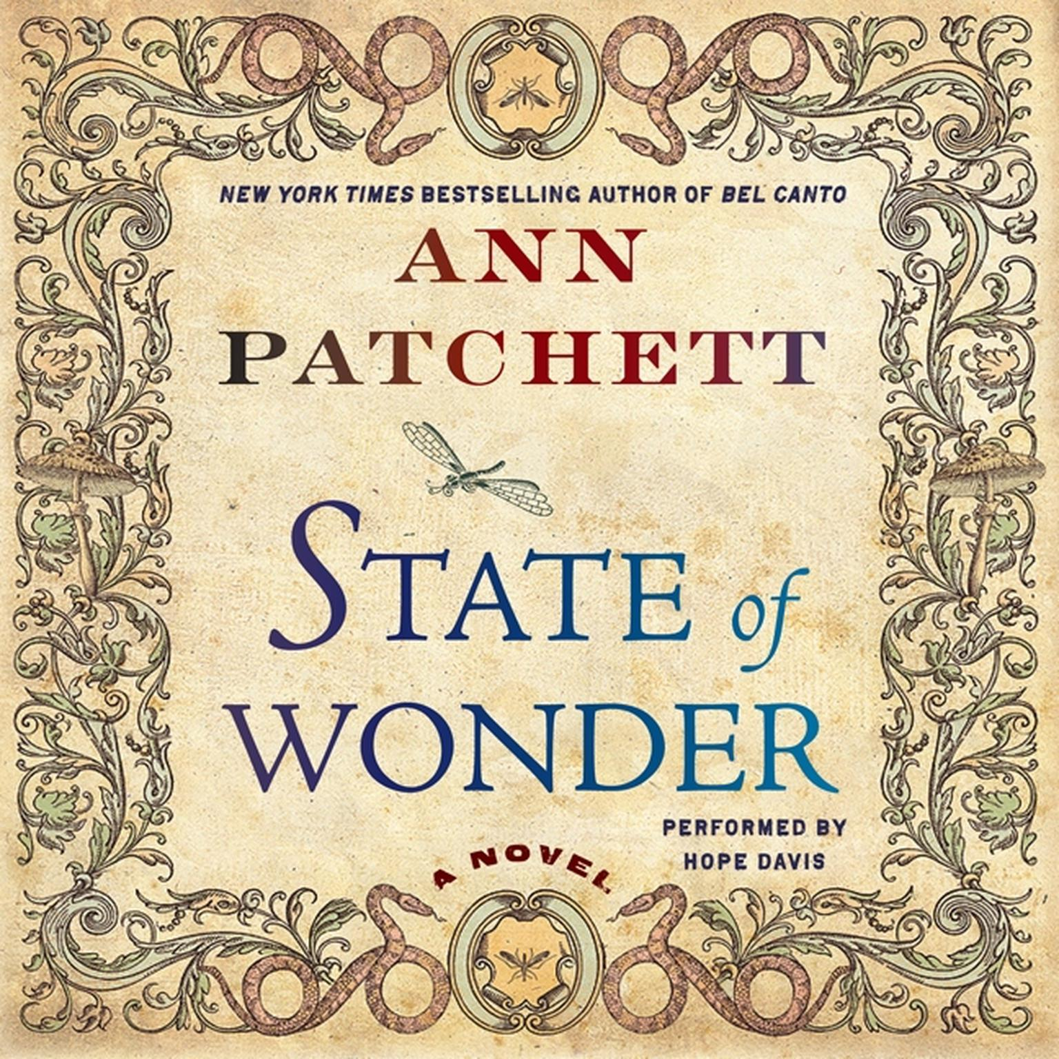 Printable State of Wonder: A Novel Audiobook Cover Art