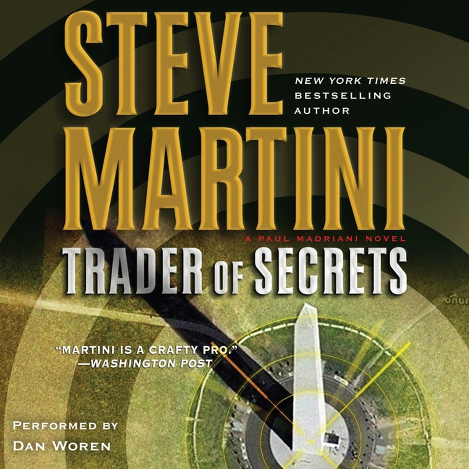 Printable Trader of Secrets: A Paul Madriani Novel Audiobook Cover Art