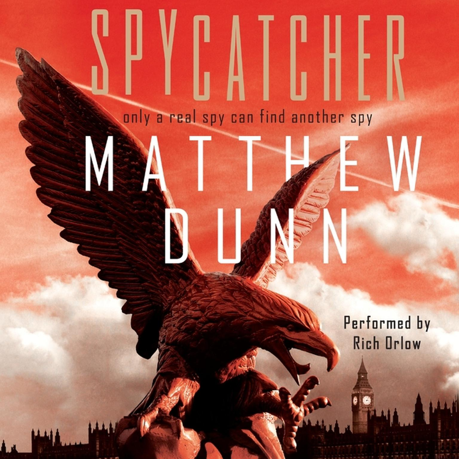 Printable Spycatcher Audiobook Cover Art