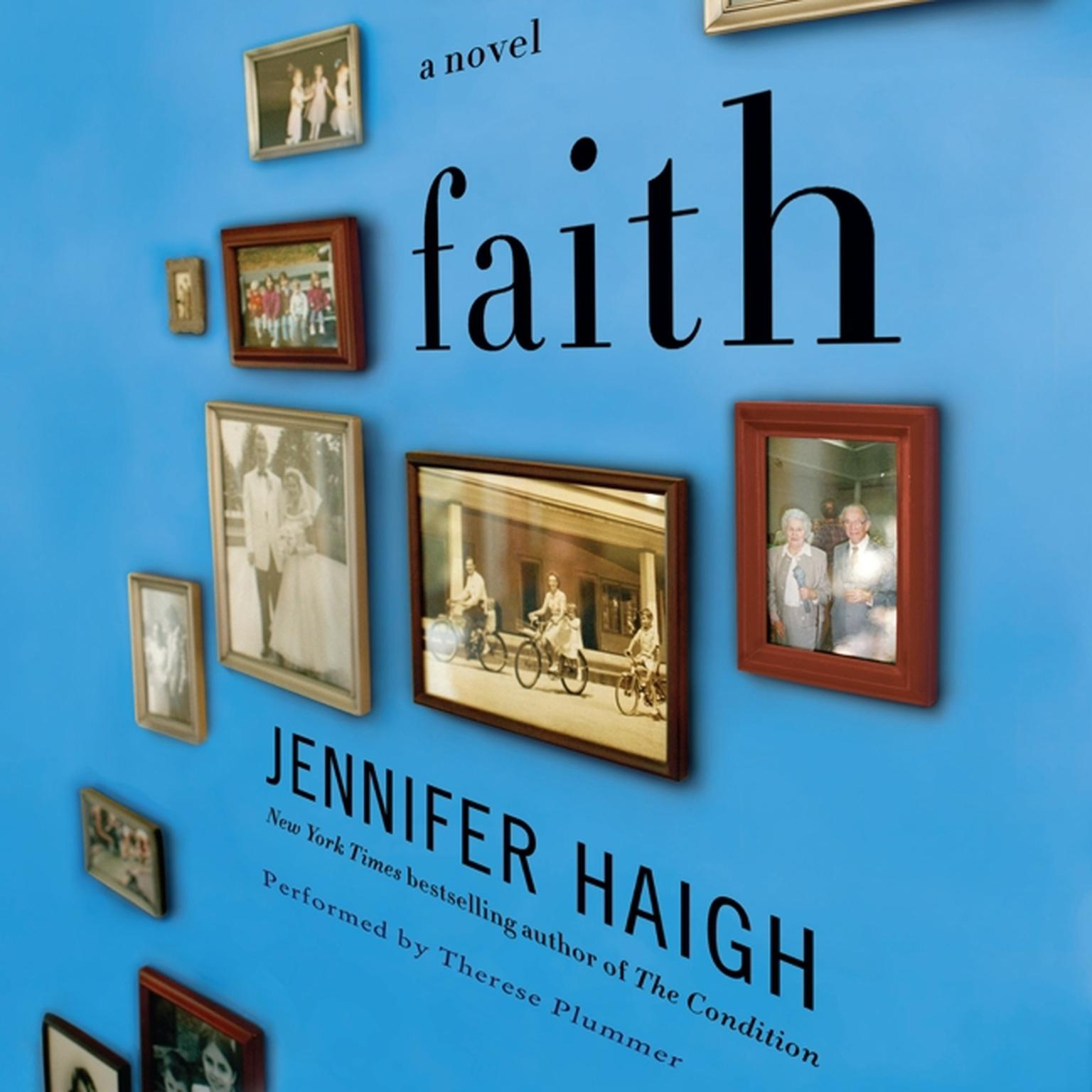 Printable Faith: A Novel Audiobook Cover Art