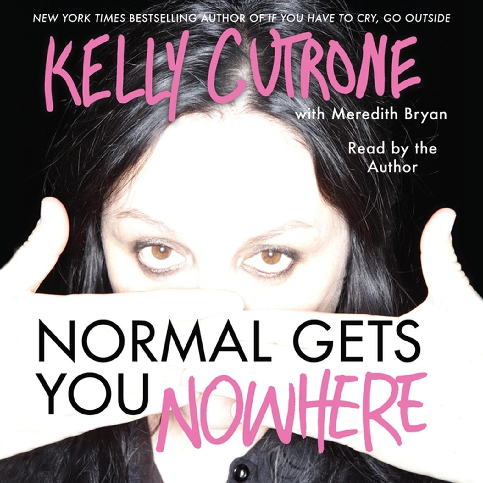 Printable Normal Gets You Nowhere Audiobook Cover Art