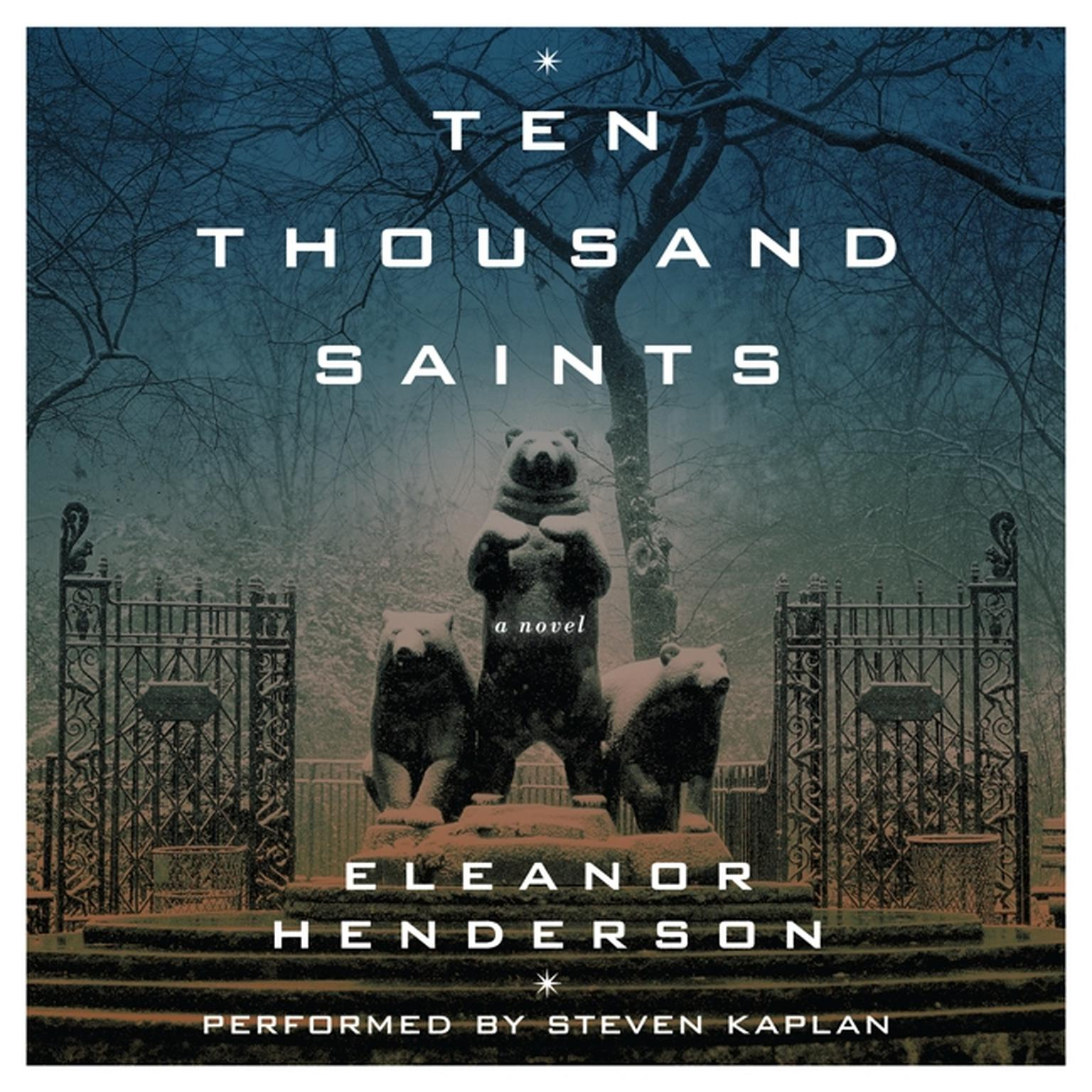 Printable Ten Thousand Saints Audiobook Cover Art