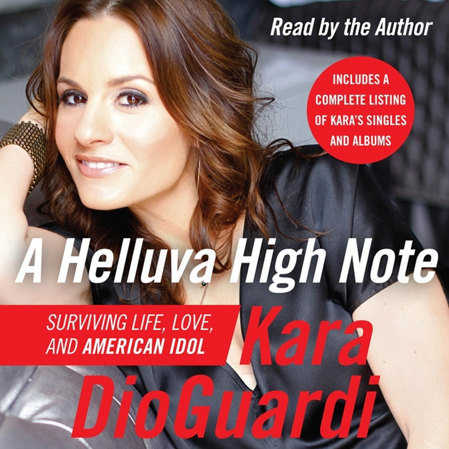 Printable A Helluva High Note: Surviving Life, Love, and American Idol Audiobook Cover Art