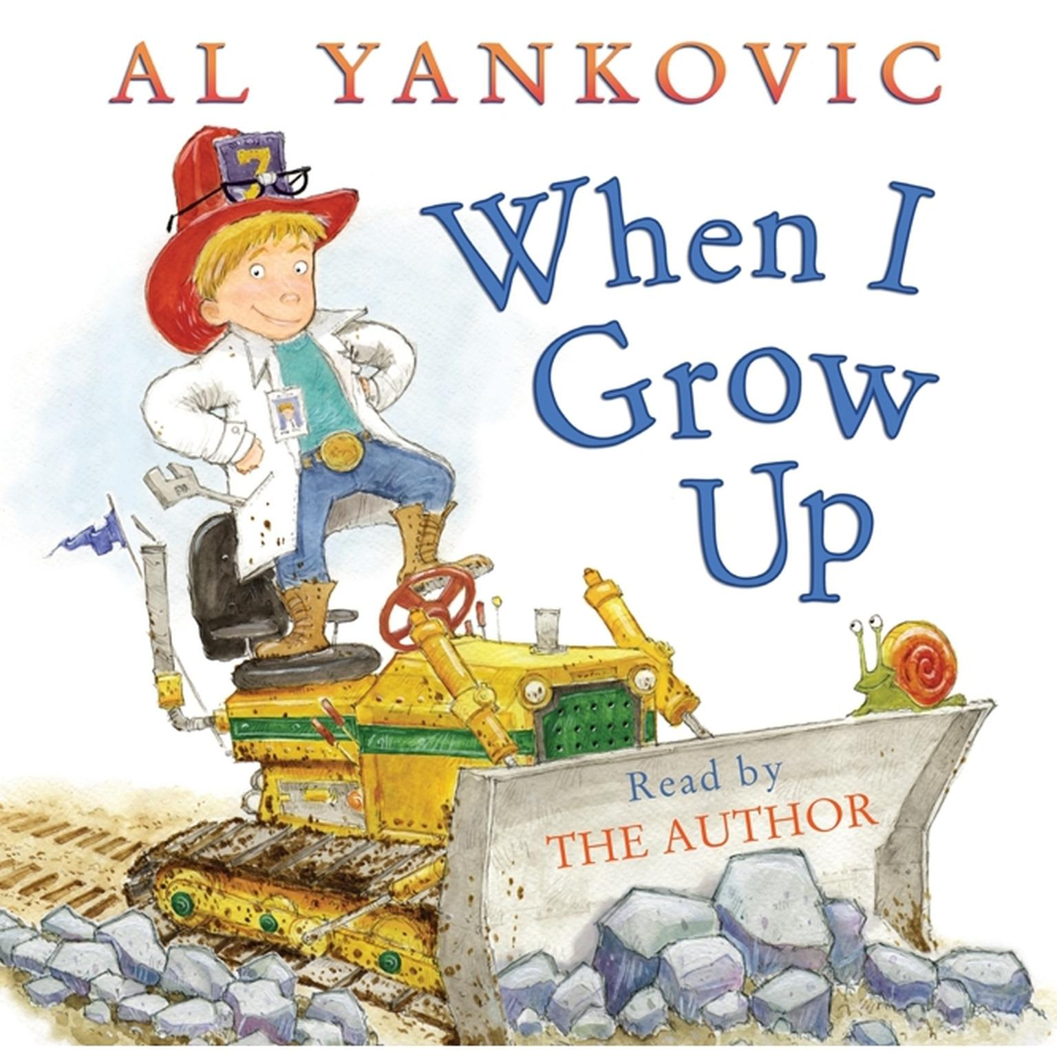 Printable When I Grow Up Audiobook Cover Art
