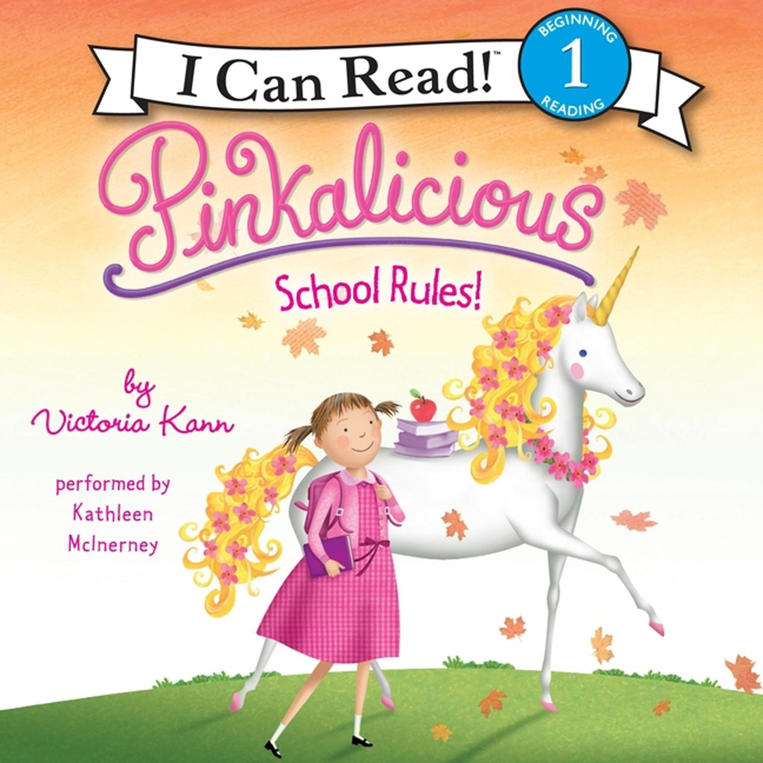 Printable Pinkalicious: School Rules! Audiobook Cover Art
