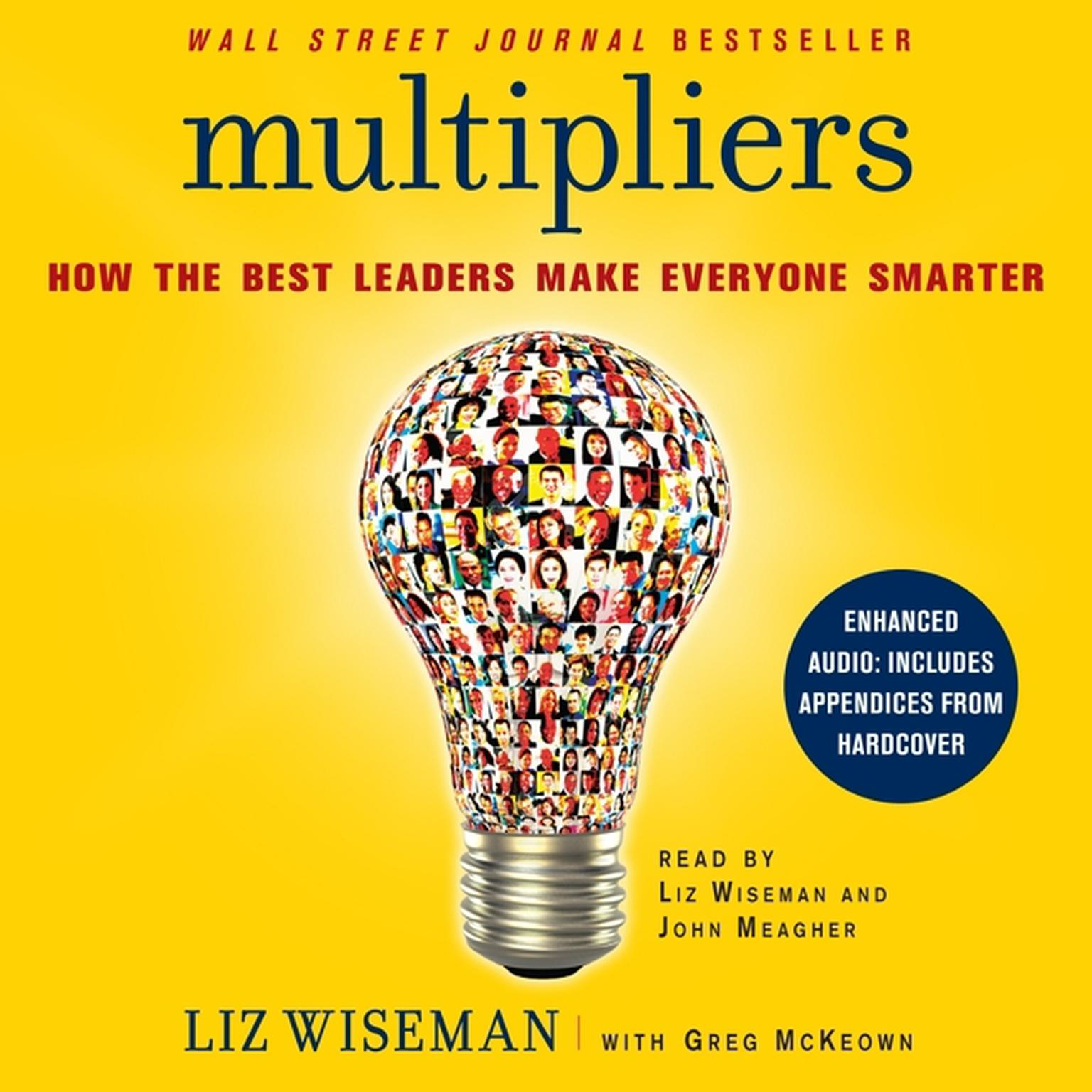 Printable Multipliers: How the Best Leaders Make Everyone Smarter Audiobook Cover Art
