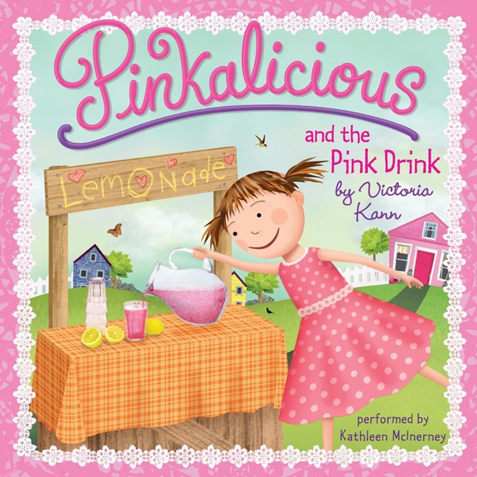 Printable Pinkalicious and the Pink Drink Audiobook Cover Art