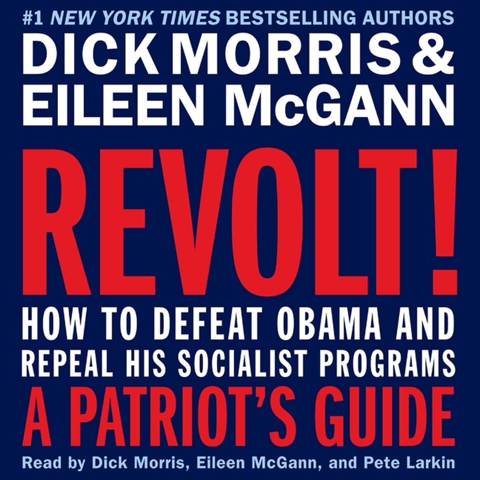 Printable Revolt!: How to Defeat Obama and Repeal His Socialist Programs Audiobook Cover Art