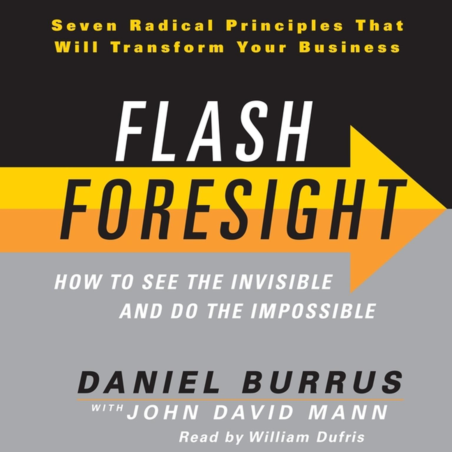 Printable Flash Foresight: How to See the Invisible and Do the Impossible Audiobook Cover Art