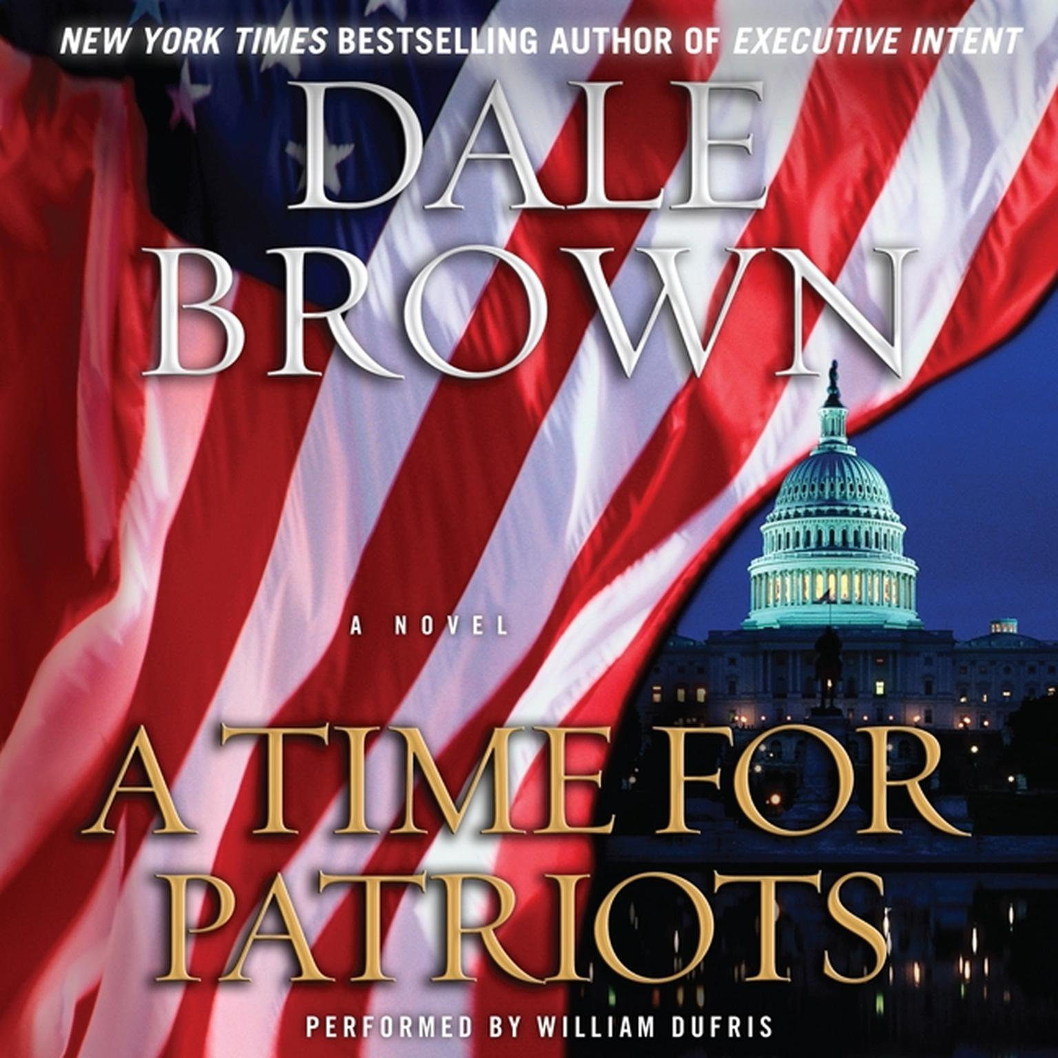 Printable A Time for Patriots: A Novel Audiobook Cover Art