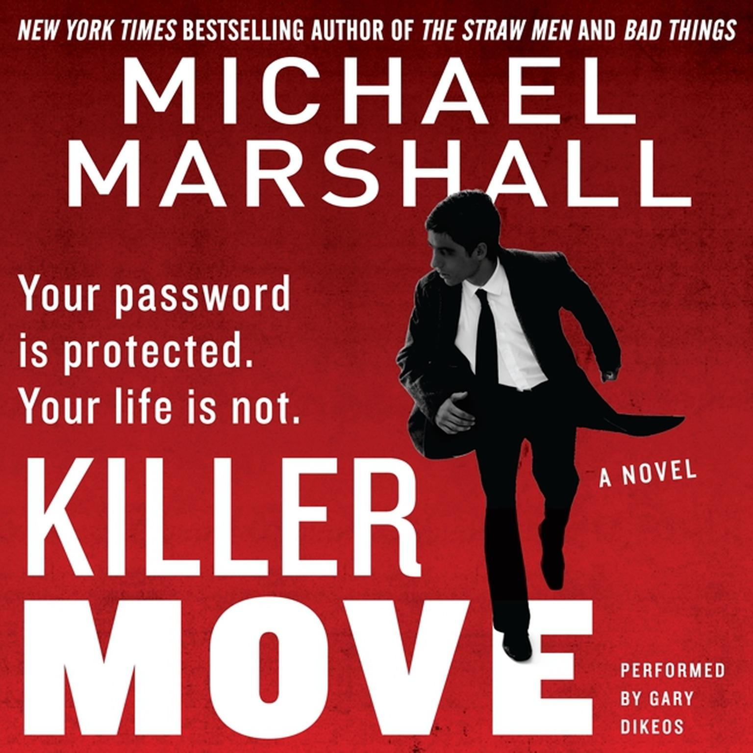 Printable Killer Move: A Novel Audiobook Cover Art