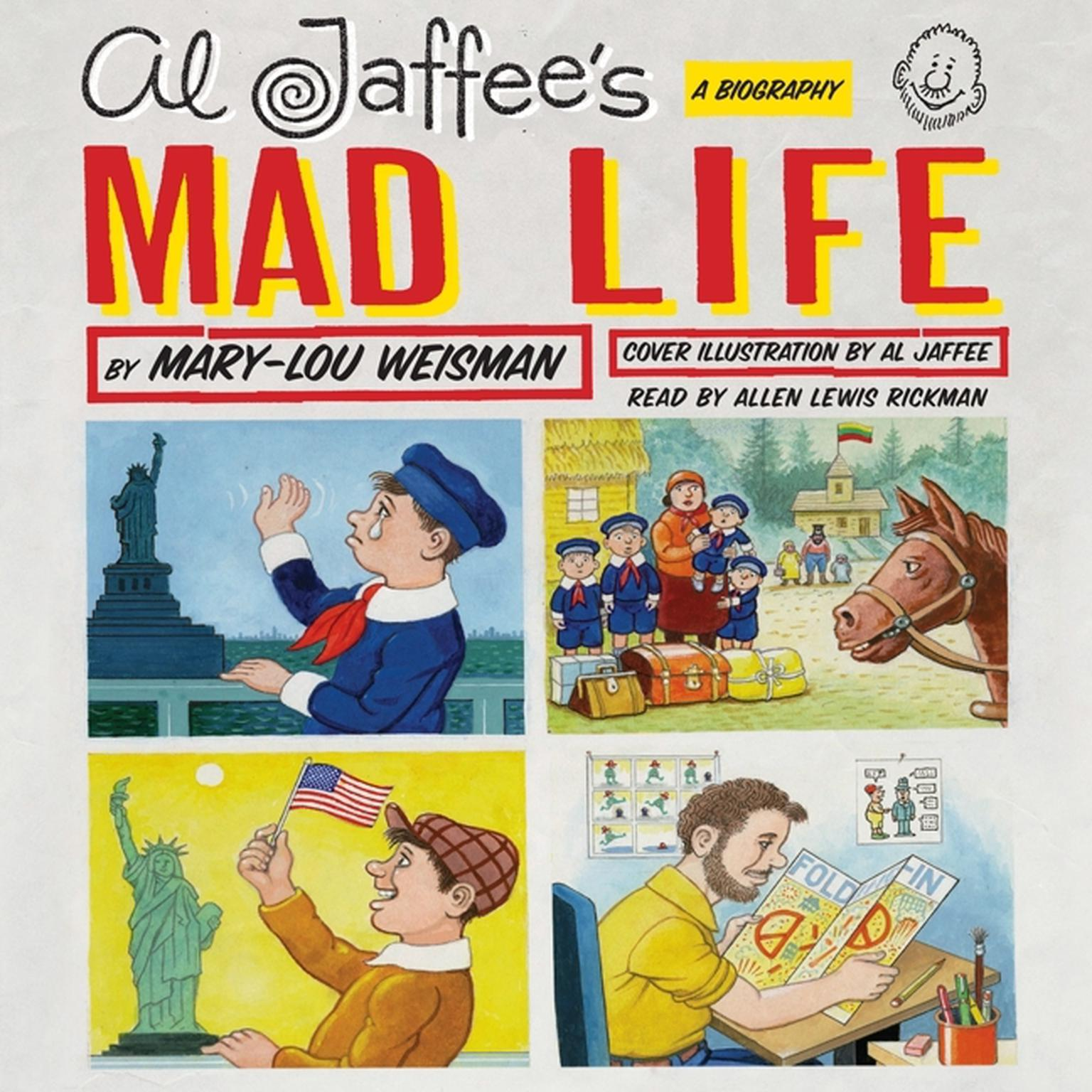 Printable Al Jaffee's Mad Life: A Biography Audiobook Cover Art