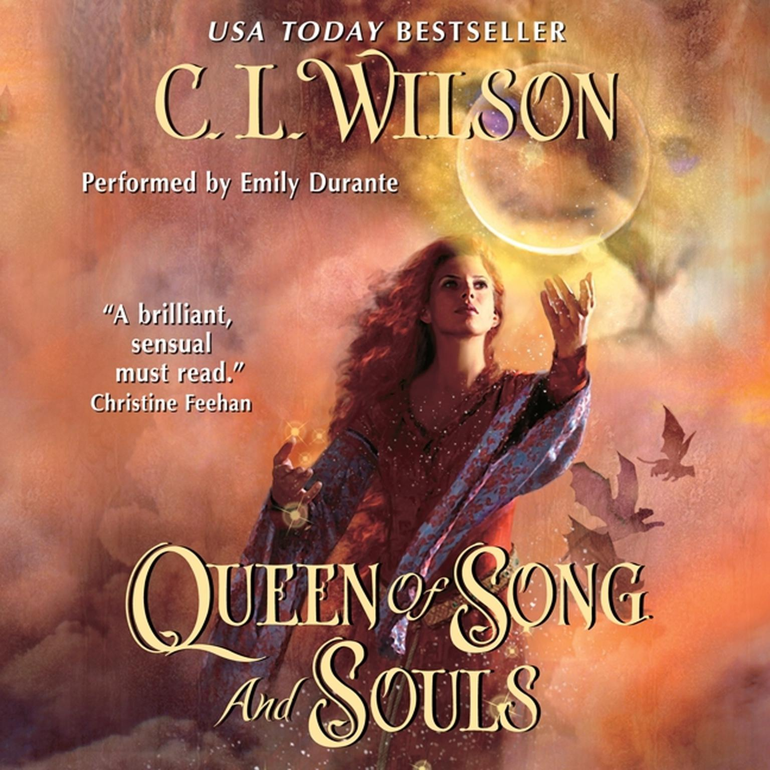 Printable Queen of Song and Souls Audiobook Cover Art