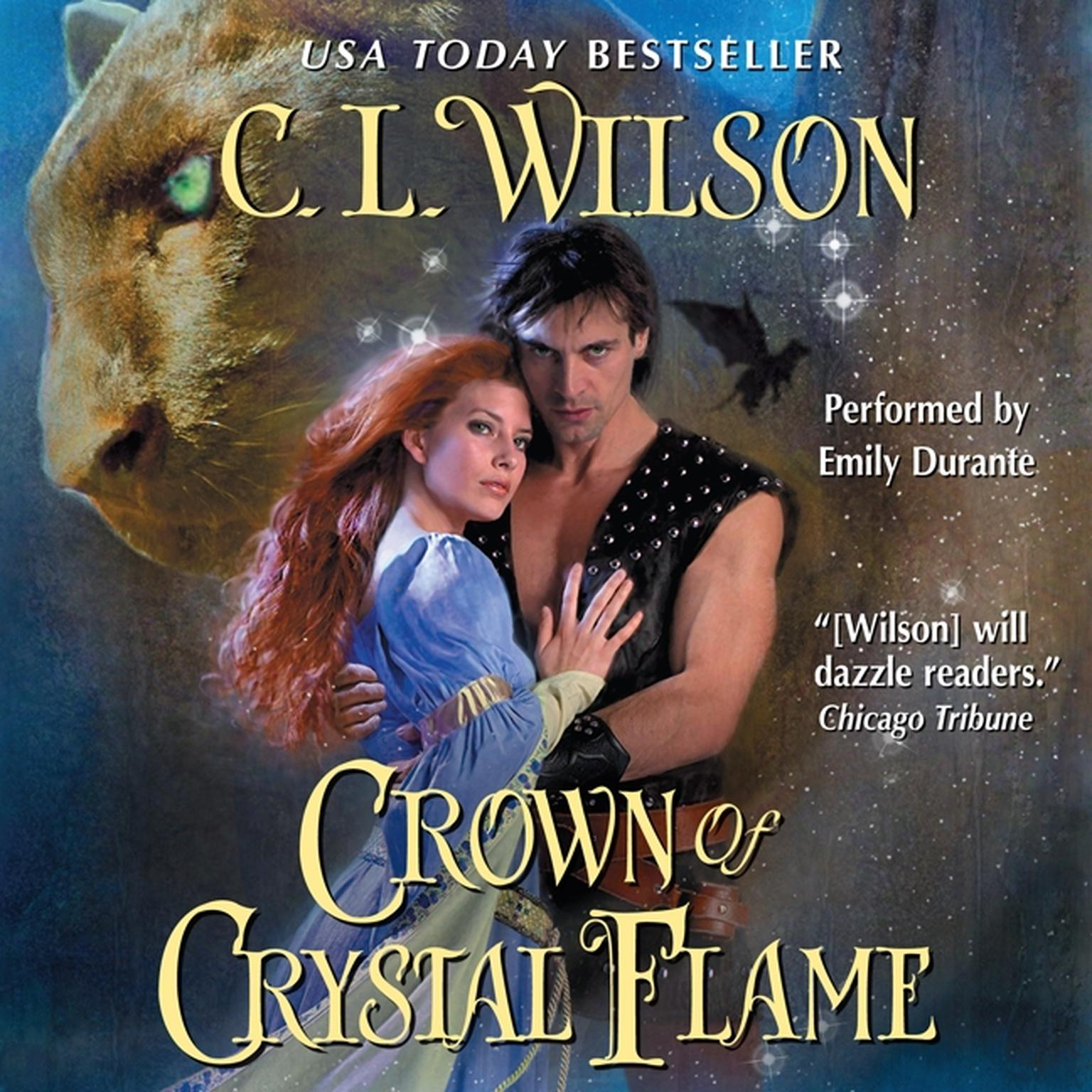 Printable Crown of Crystal Flame Audiobook Cover Art