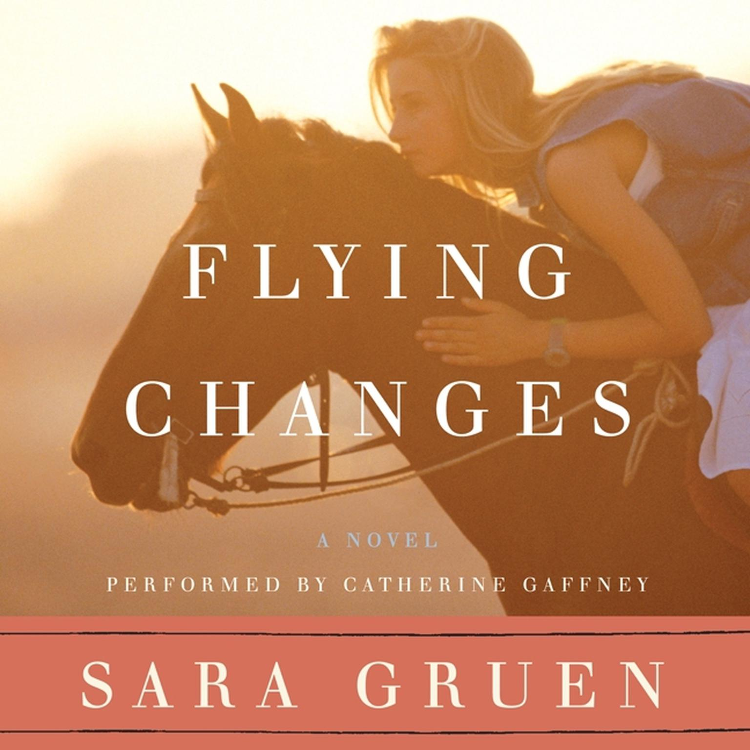 Printable Flying Changes Audiobook Cover Art