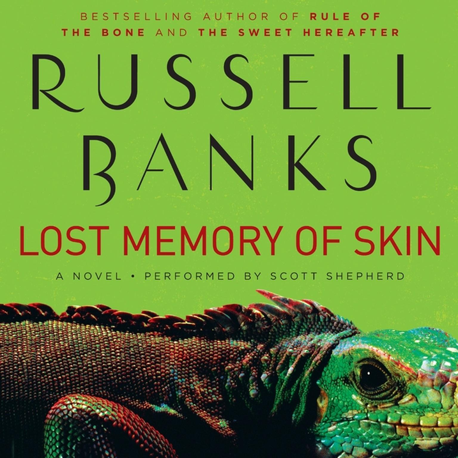 Printable Lost Memory of Skin Audiobook Cover Art