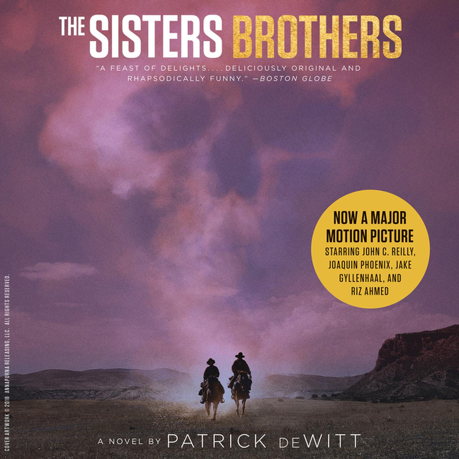 Printable The Sisters Brothers: A Novel Audiobook Cover Art
