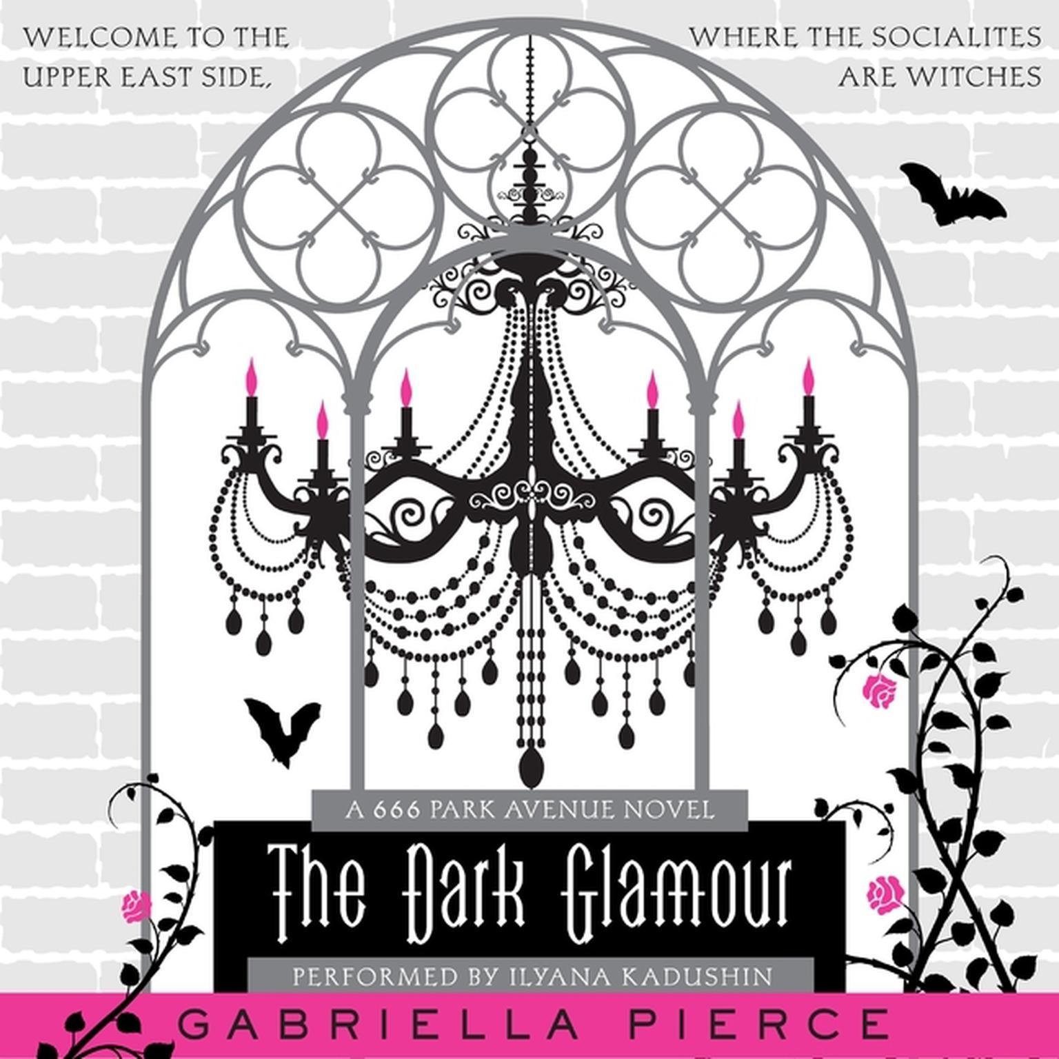Printable The Dark Glamour: A 666 Park Avenue Novel Audiobook Cover Art