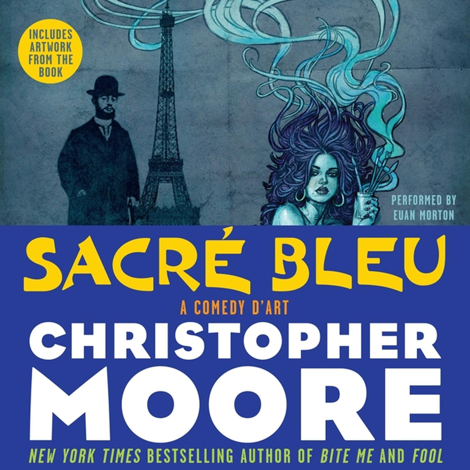 Printable Sacre Bleu: A Comedy d'Art Audiobook Cover Art