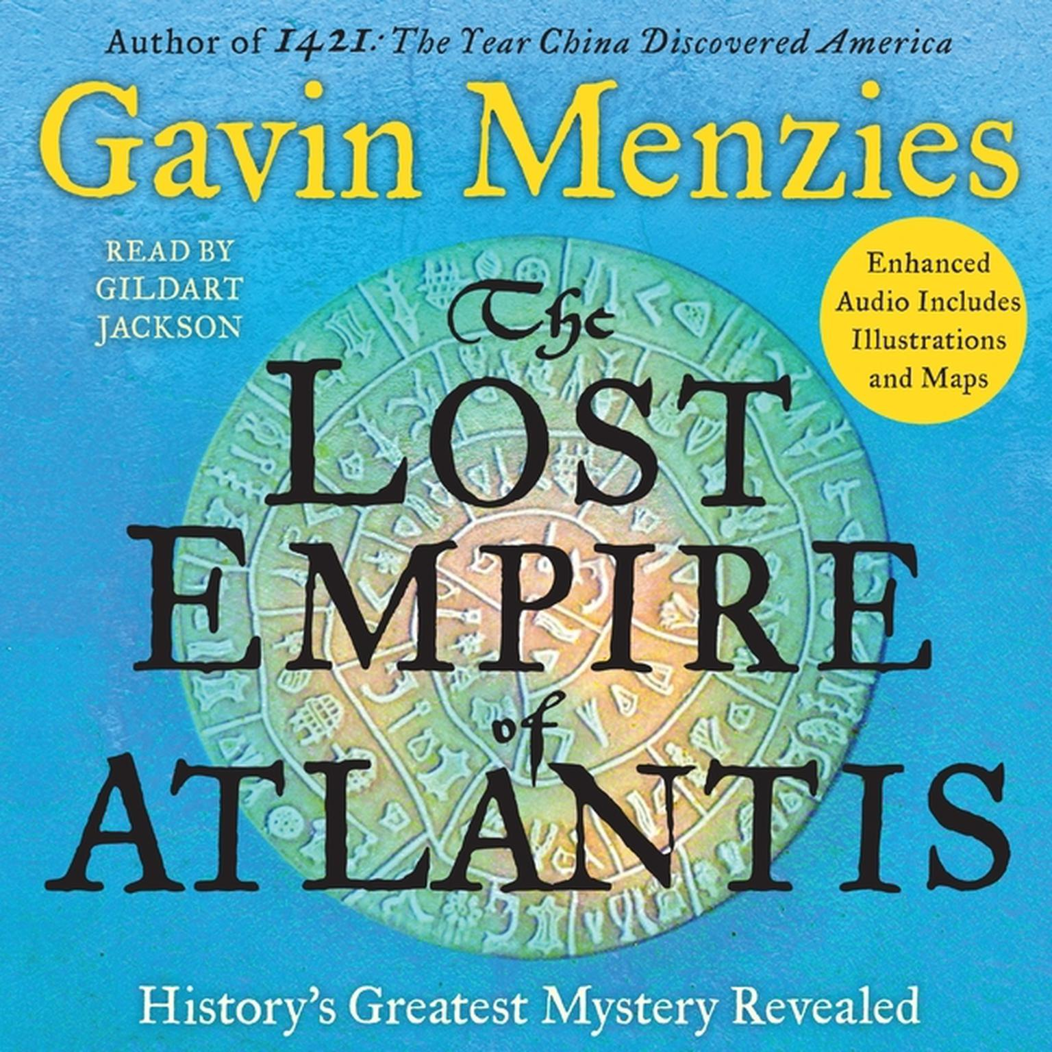 Printable The Lost Empire of Atlantis: History's Greatest Mystery Revealed Audiobook Cover Art