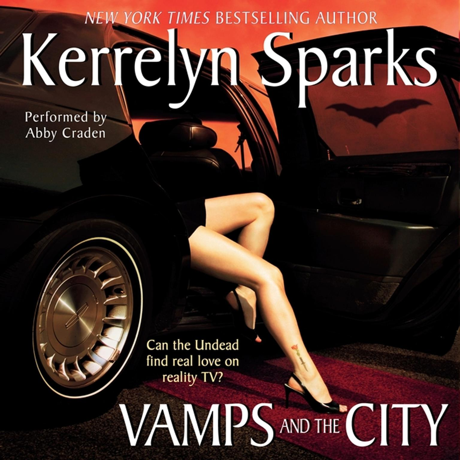 Printable Vamps and the City Audiobook Cover Art
