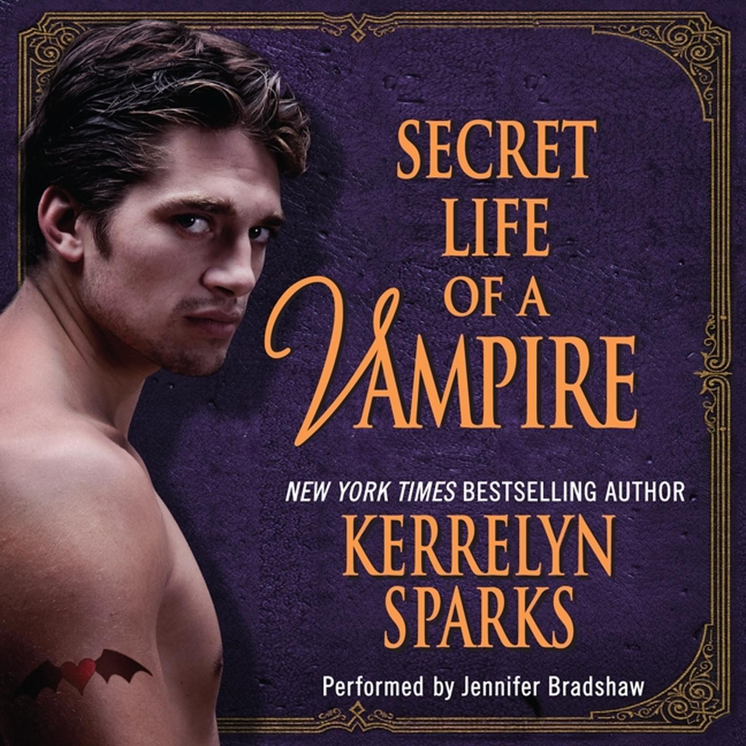 Printable Secret Life of a Vampire Audiobook Cover Art