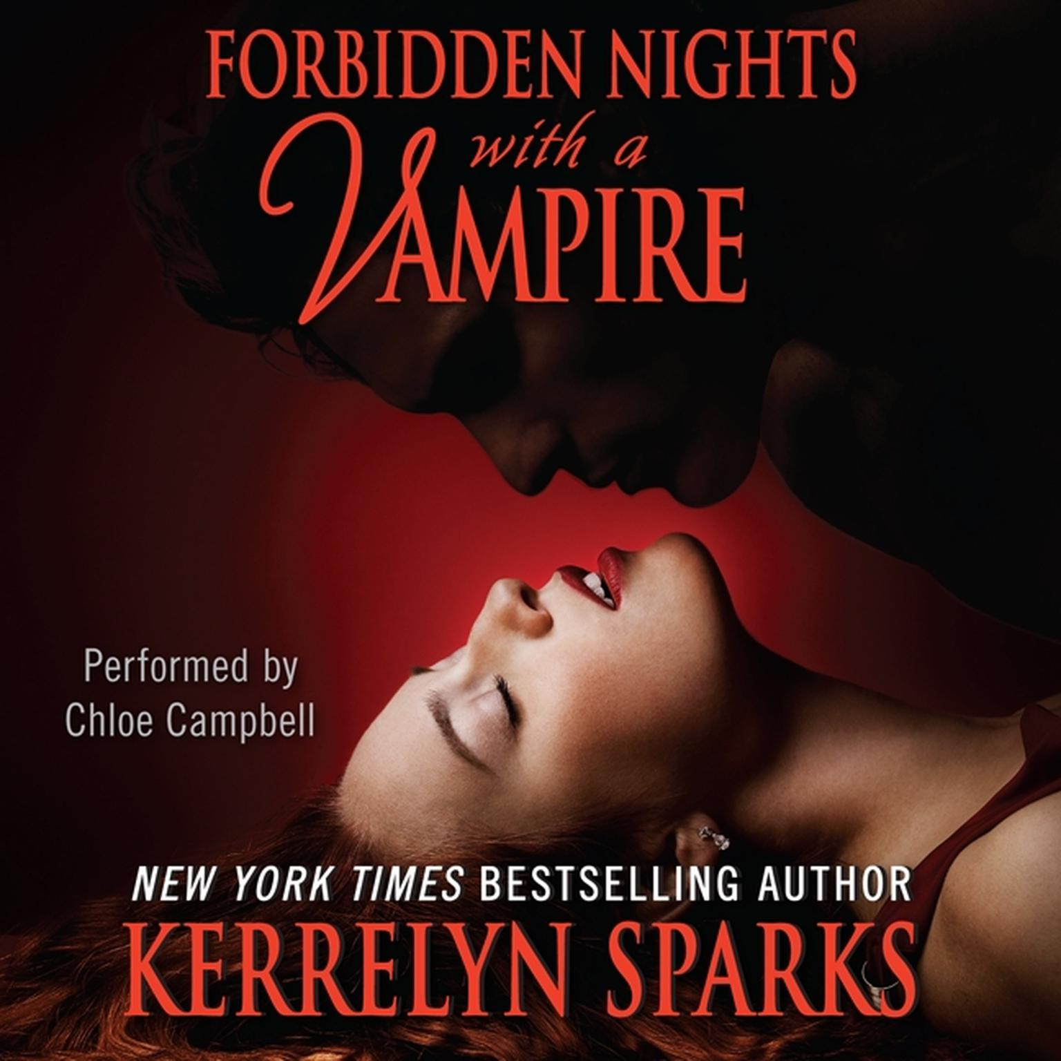 Printable Forbidden Nights with a Vampire Audiobook Cover Art