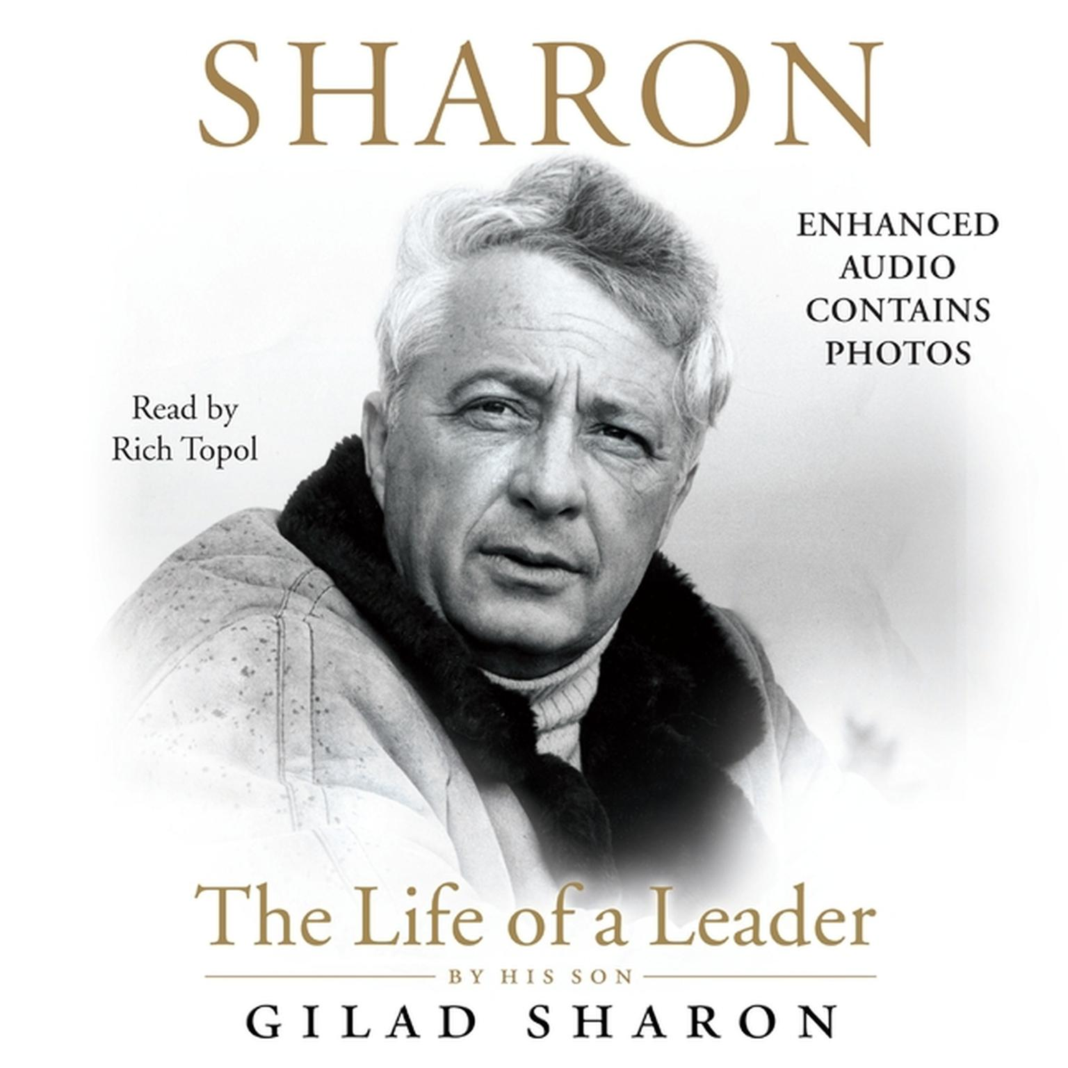 Printable Sharon: The Life of a Leader Audiobook Cover Art