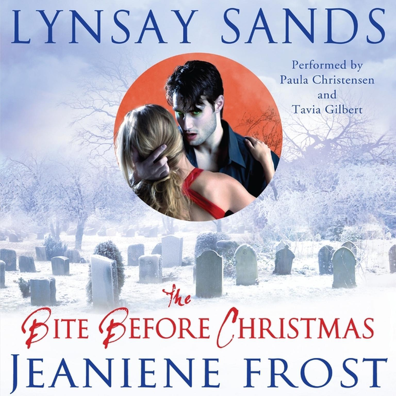 Printable The Bite before Christmas Audiobook Cover Art
