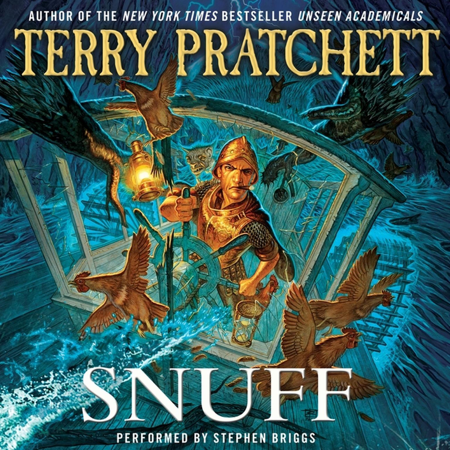 Printable Snuff: A Novel of Discworld Audiobook Cover Art