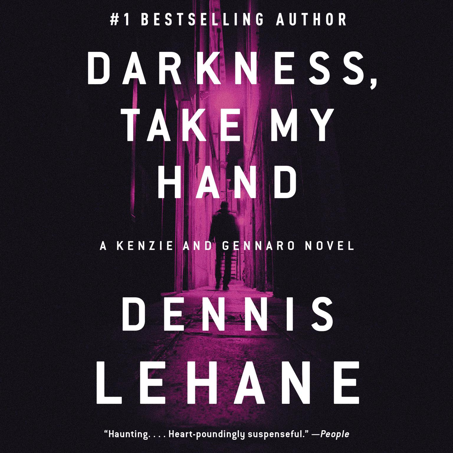 Printable Darkness, Take My Hand Audiobook Cover Art