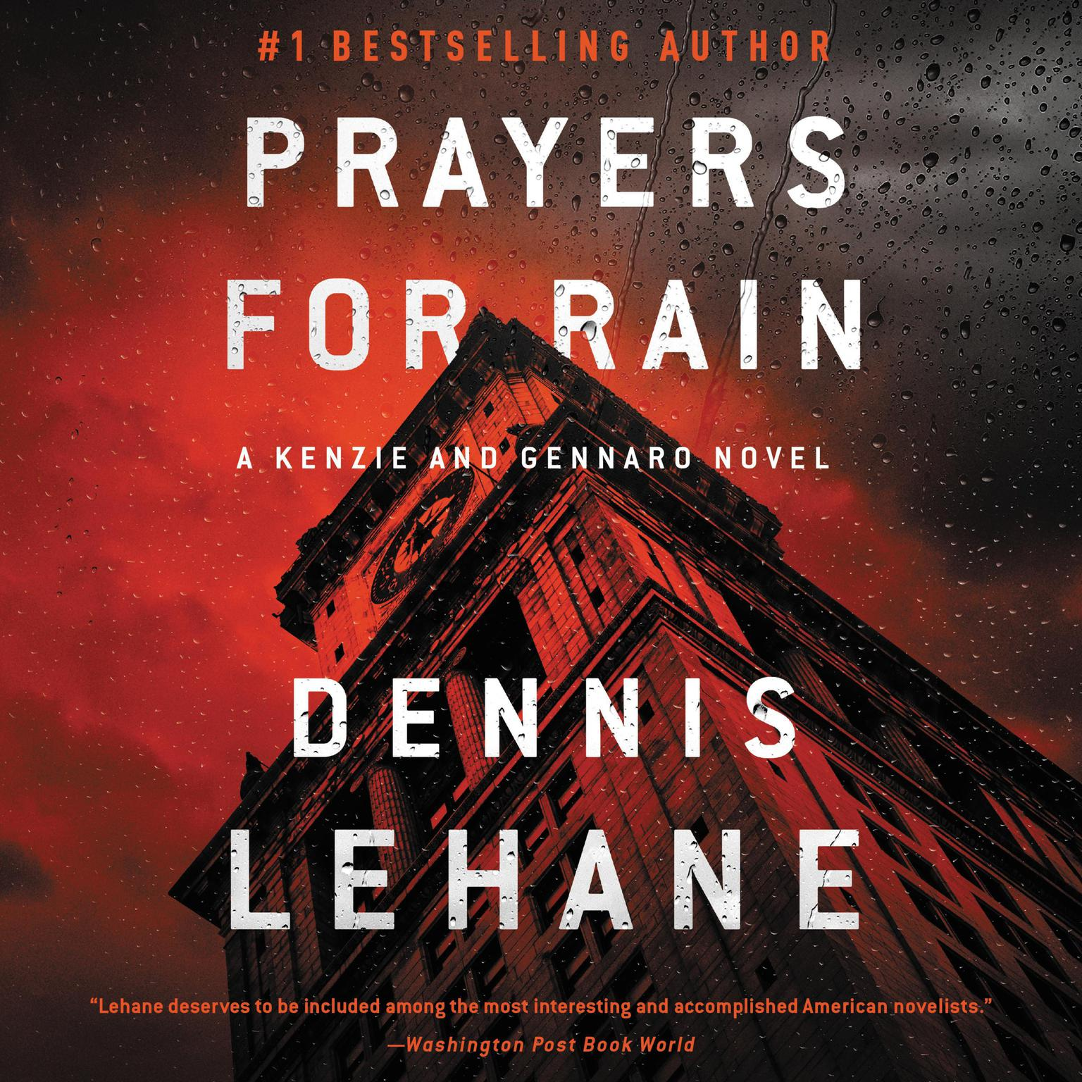 Printable Prayers for Rain Audiobook Cover Art