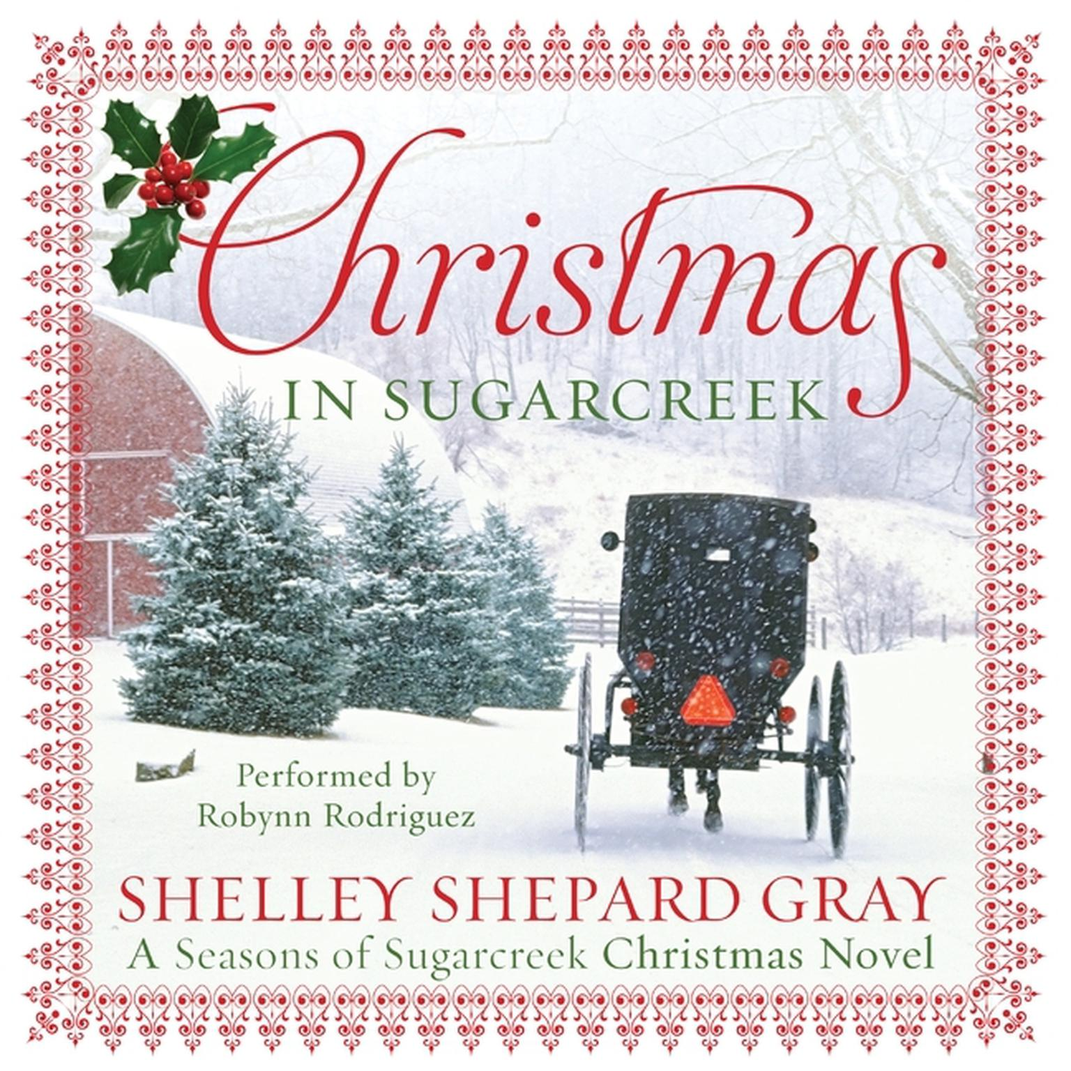 Printable Christmas in Sugarcreek: A Christmas Seasons of Sugarcreek Novel Audiobook Cover Art