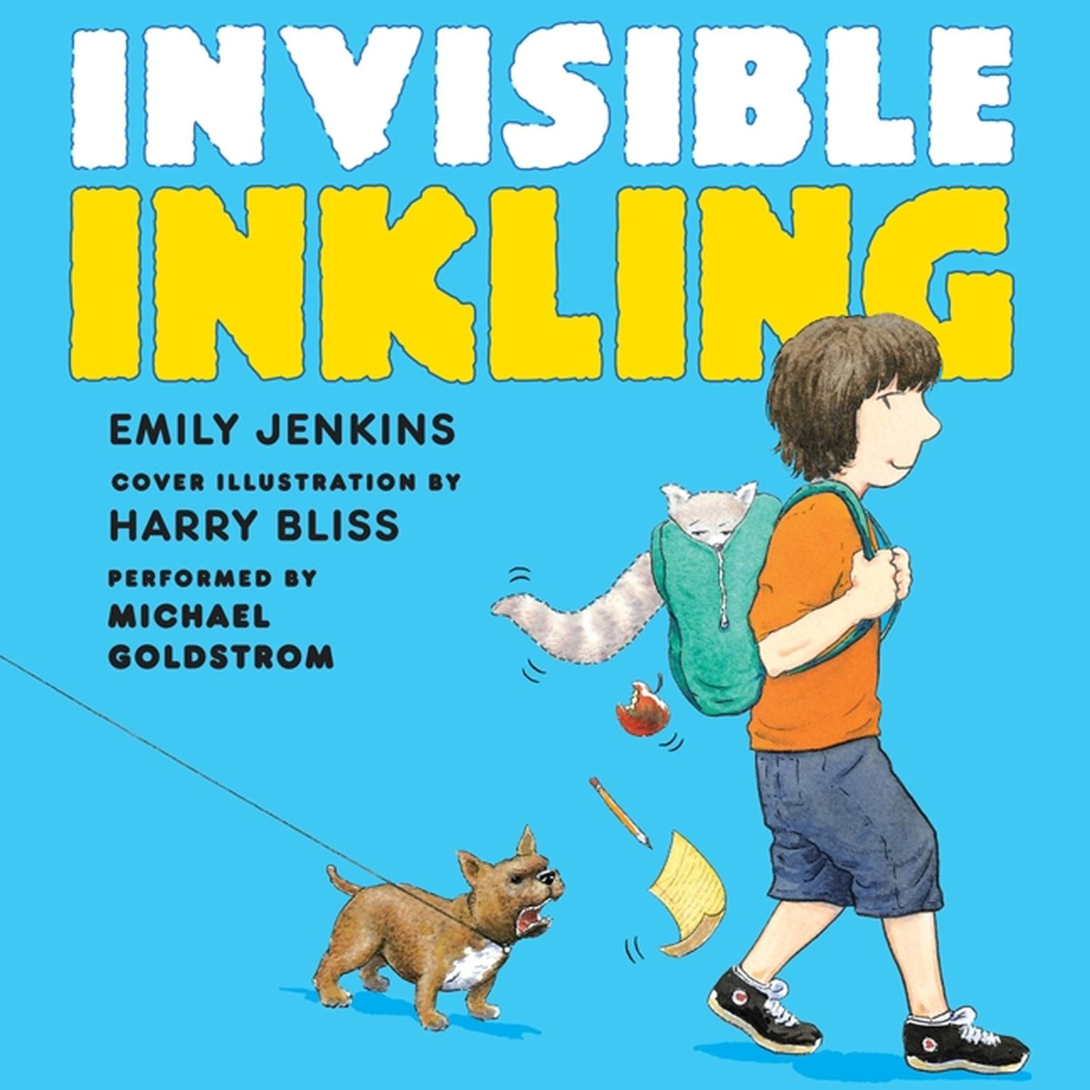Printable Invisible Inkling Audiobook Cover Art