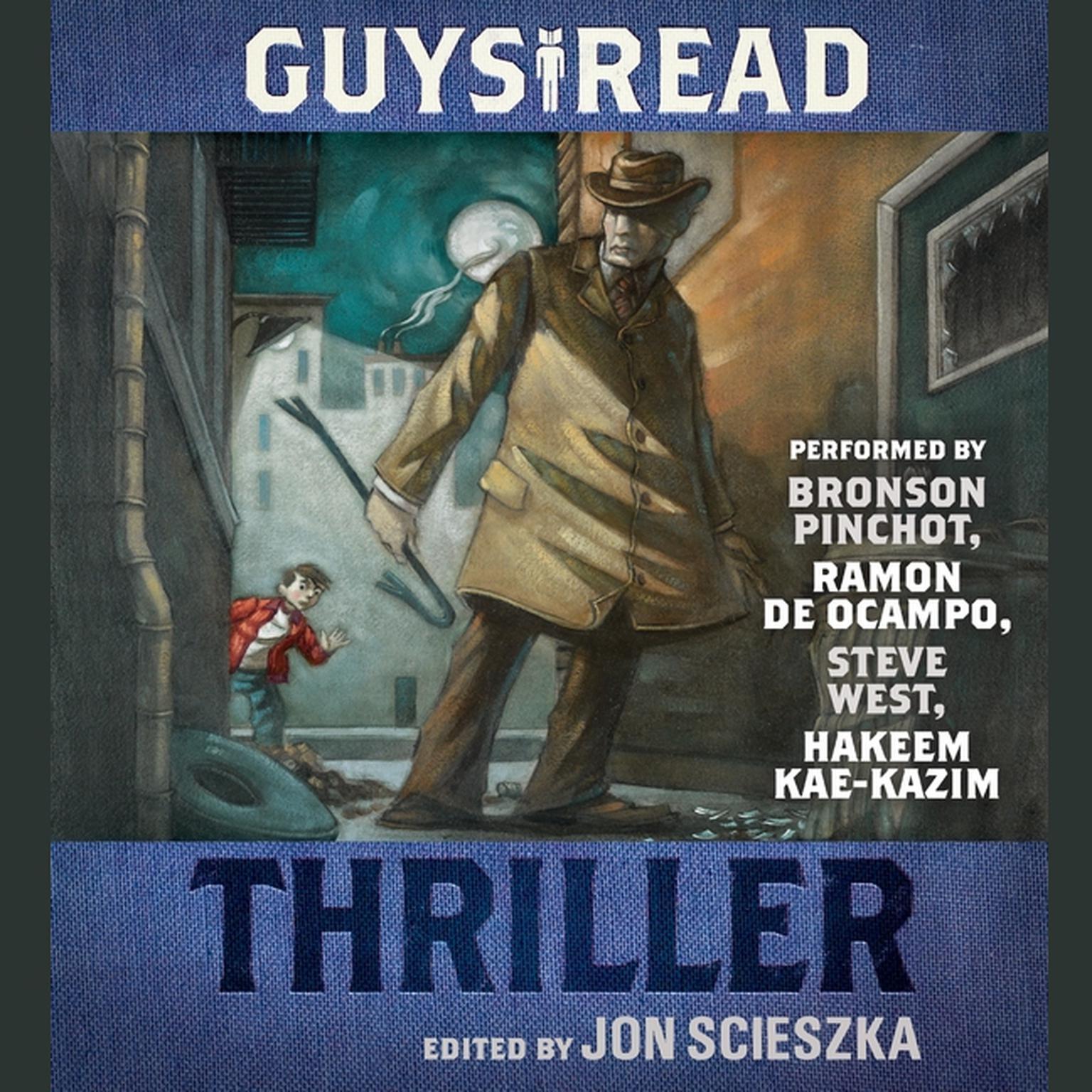 Printable Guys Read: Thriller Audiobook Cover Art