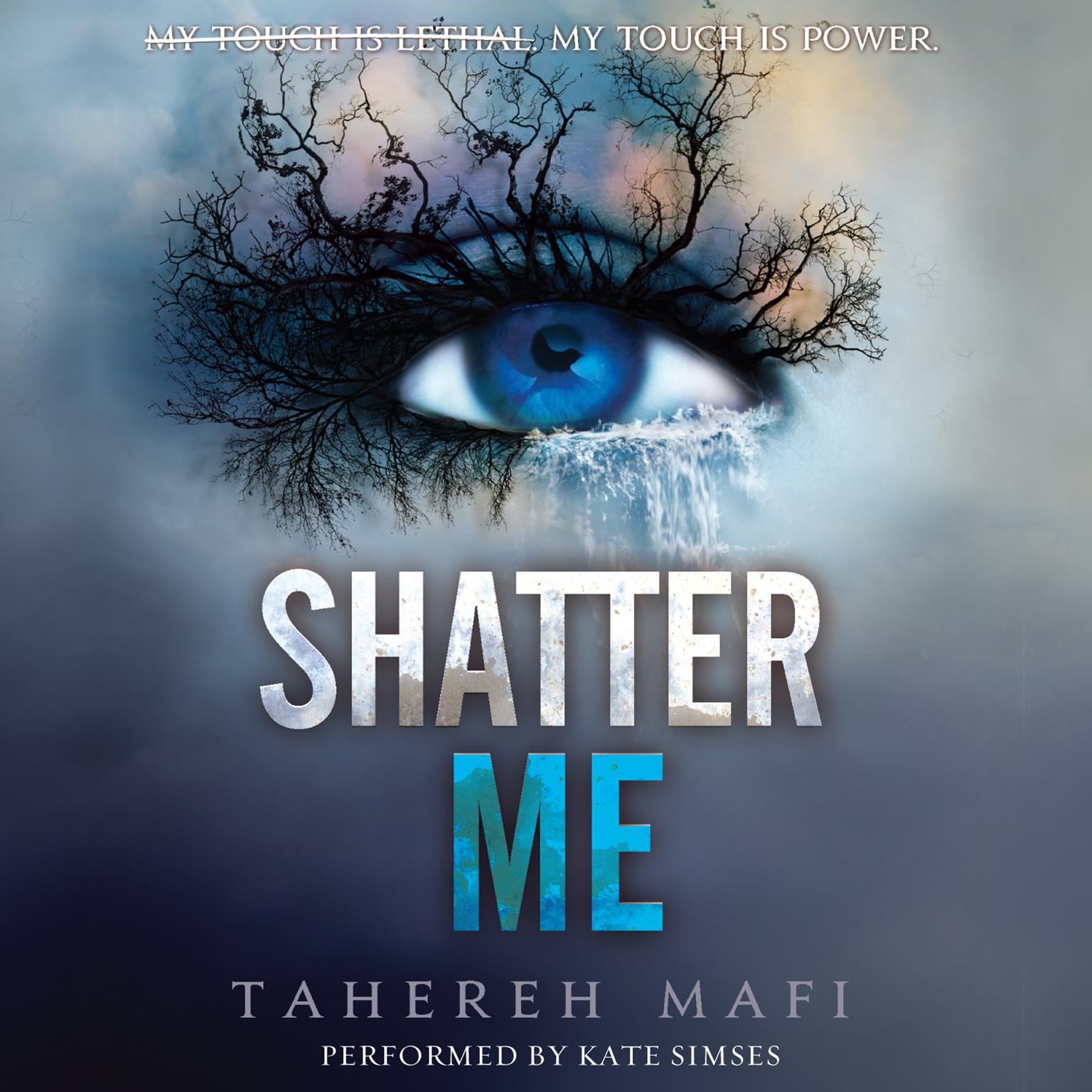 Printable Shatter Me Audiobook Cover Art
