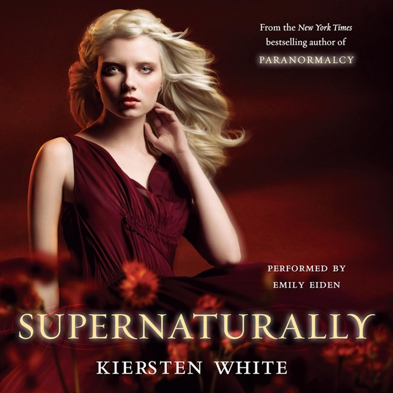 Printable Supernaturally Audiobook Cover Art
