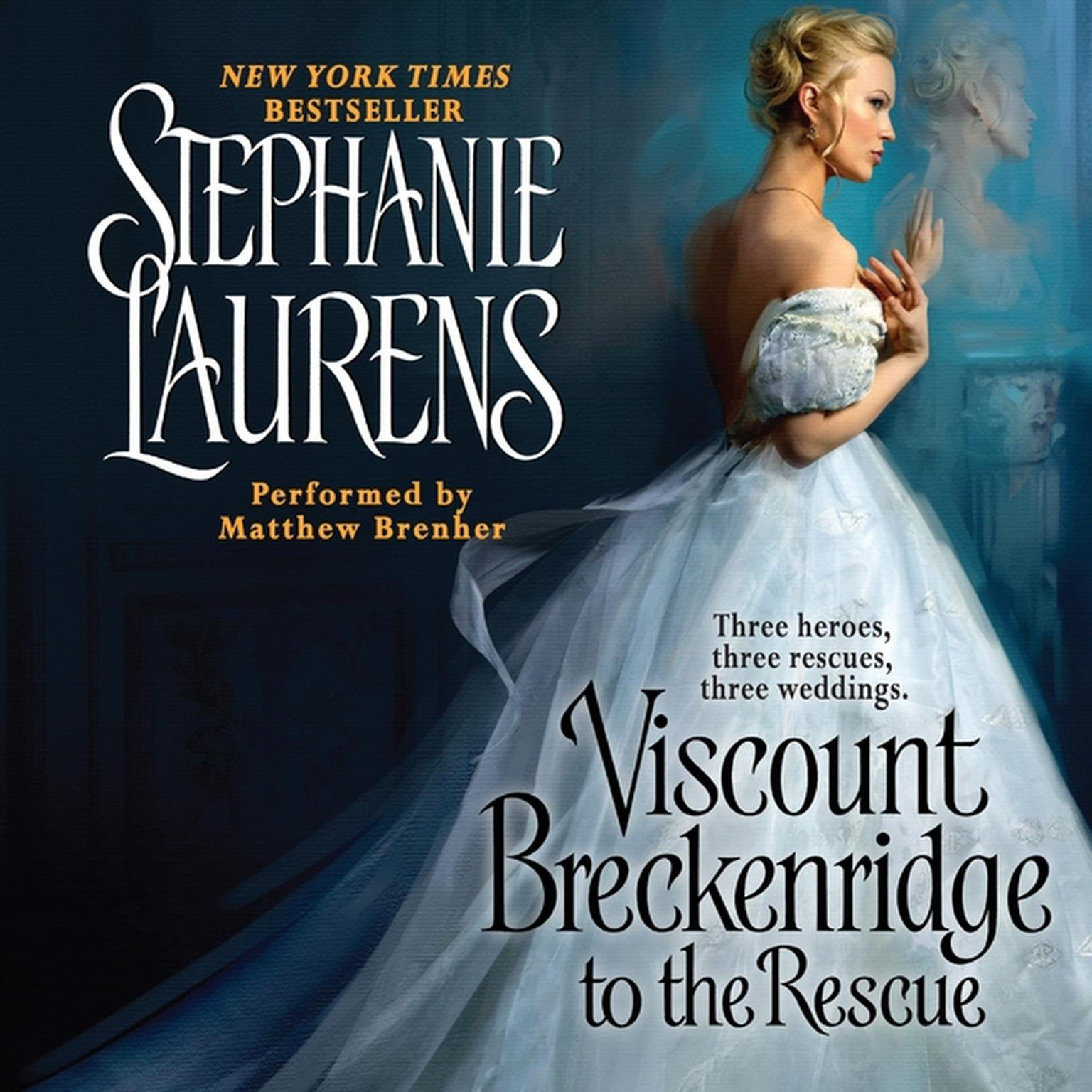 Printable Viscount Breckenridge to the Rescue: A Cynster Novel Audiobook Cover Art