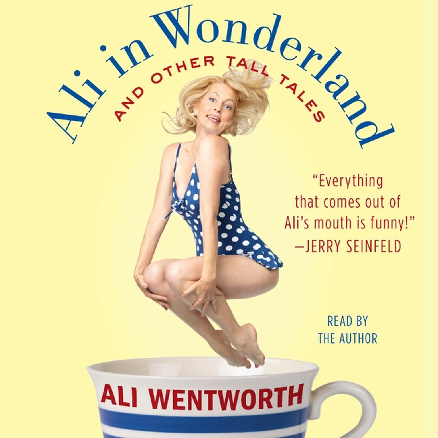 Printable Ali in Wonderland: And Other Tall Tales Audiobook Cover Art