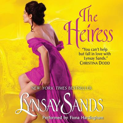 The Heiress Audiobook, by Lynsay Sands