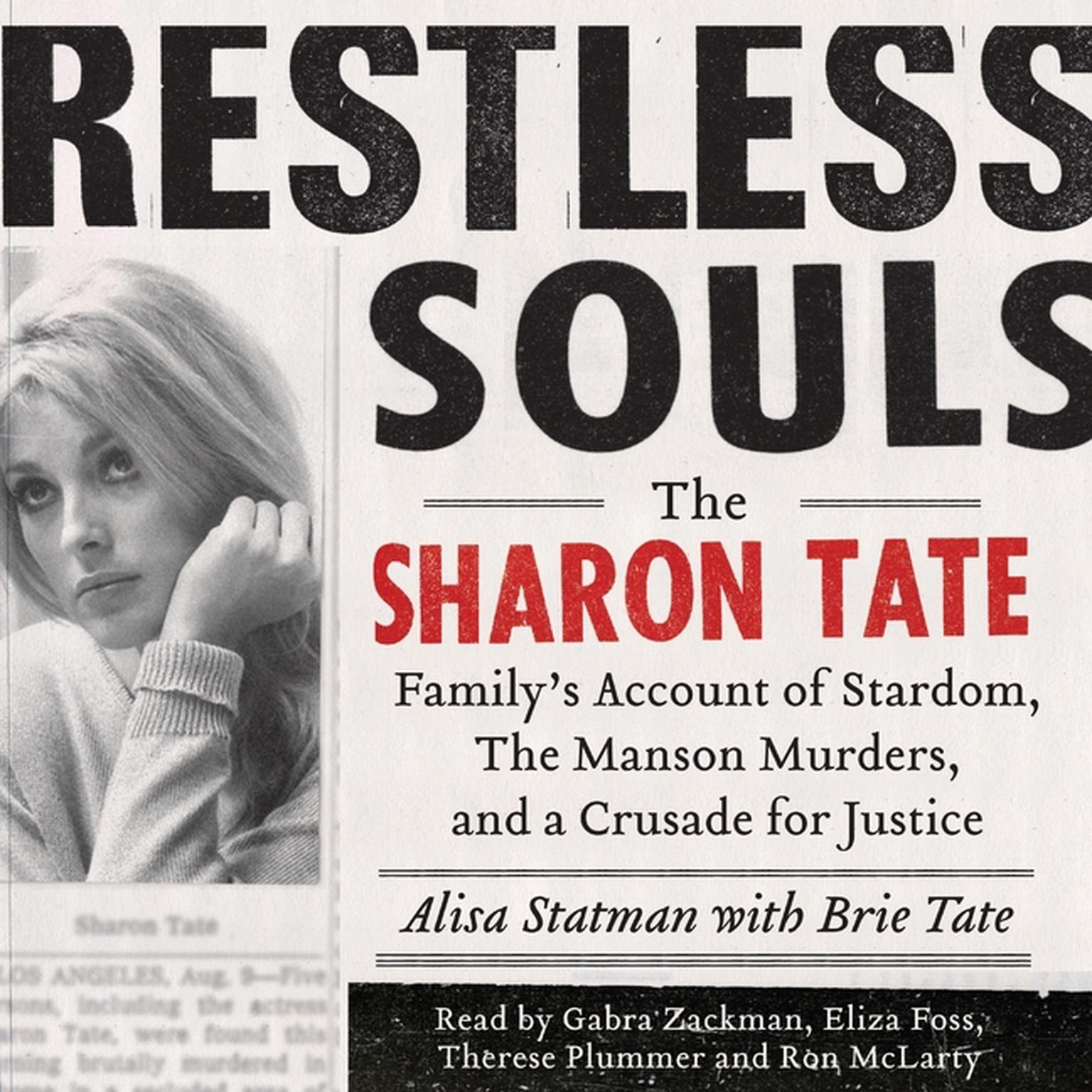 Printable Restless Souls: The Sharon Tate Family's Account of Stardom, Murder, and a Crusade Audiobook Cover Art