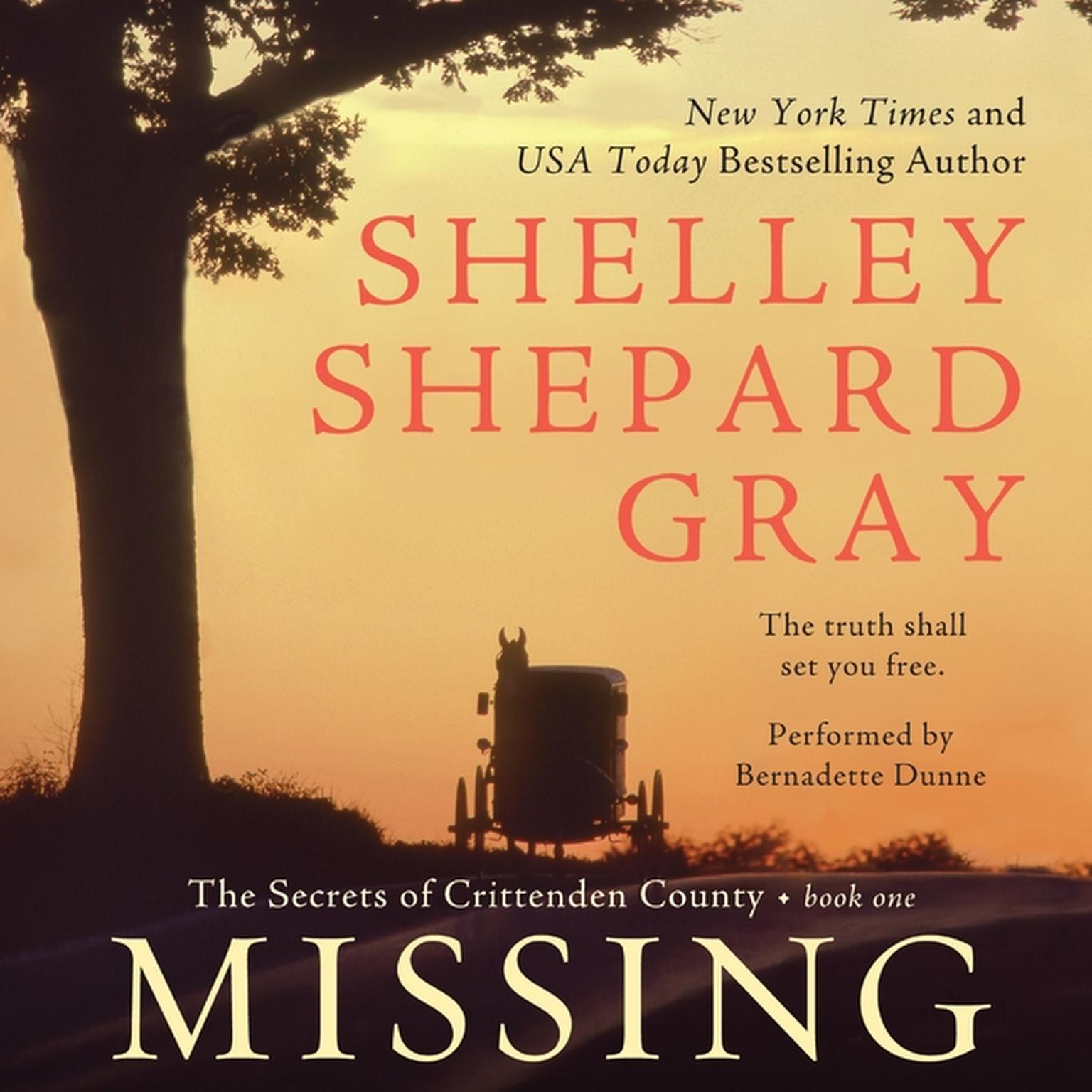 Printable Missing: The Secrets of Crittenden County, Book One Audiobook Cover Art