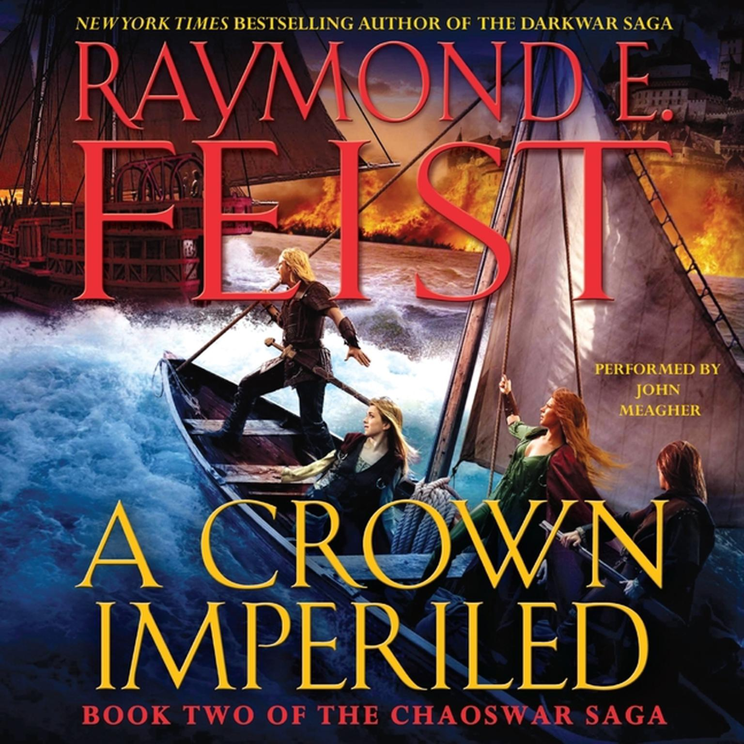 Printable A Crown Imperiled: Book Two of the Chaoswar Saga Audiobook Cover Art